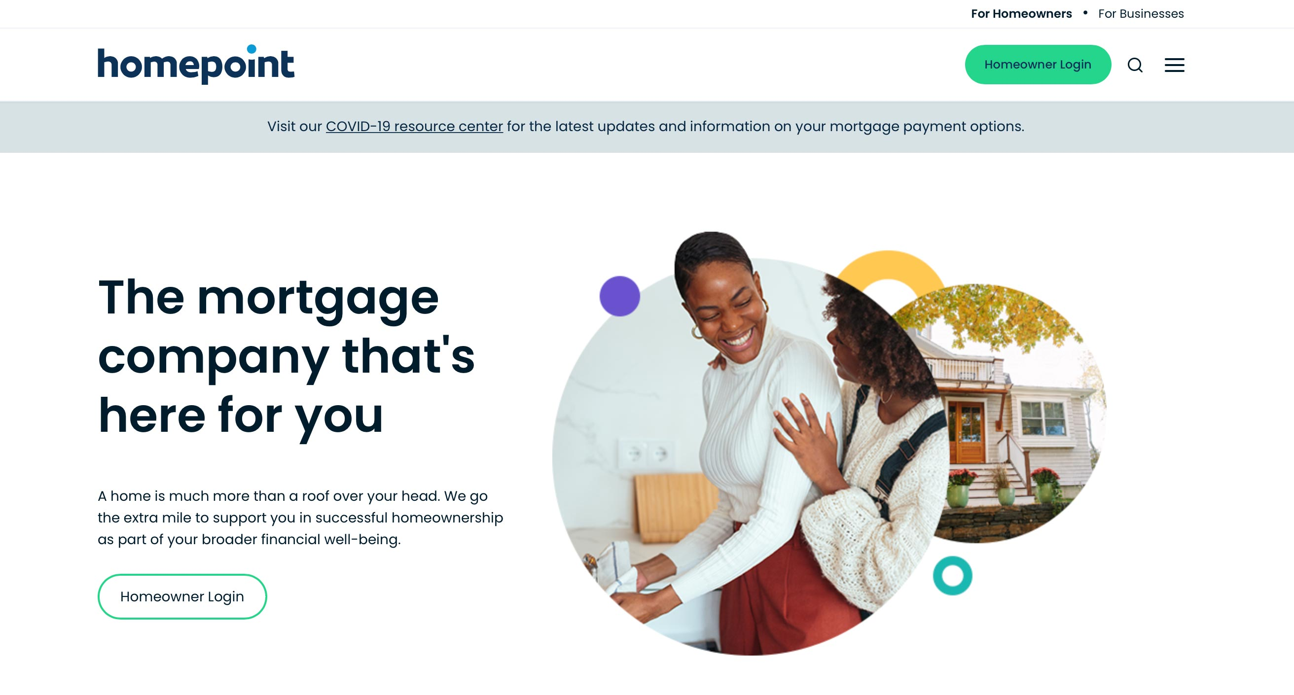 homepoint financial site