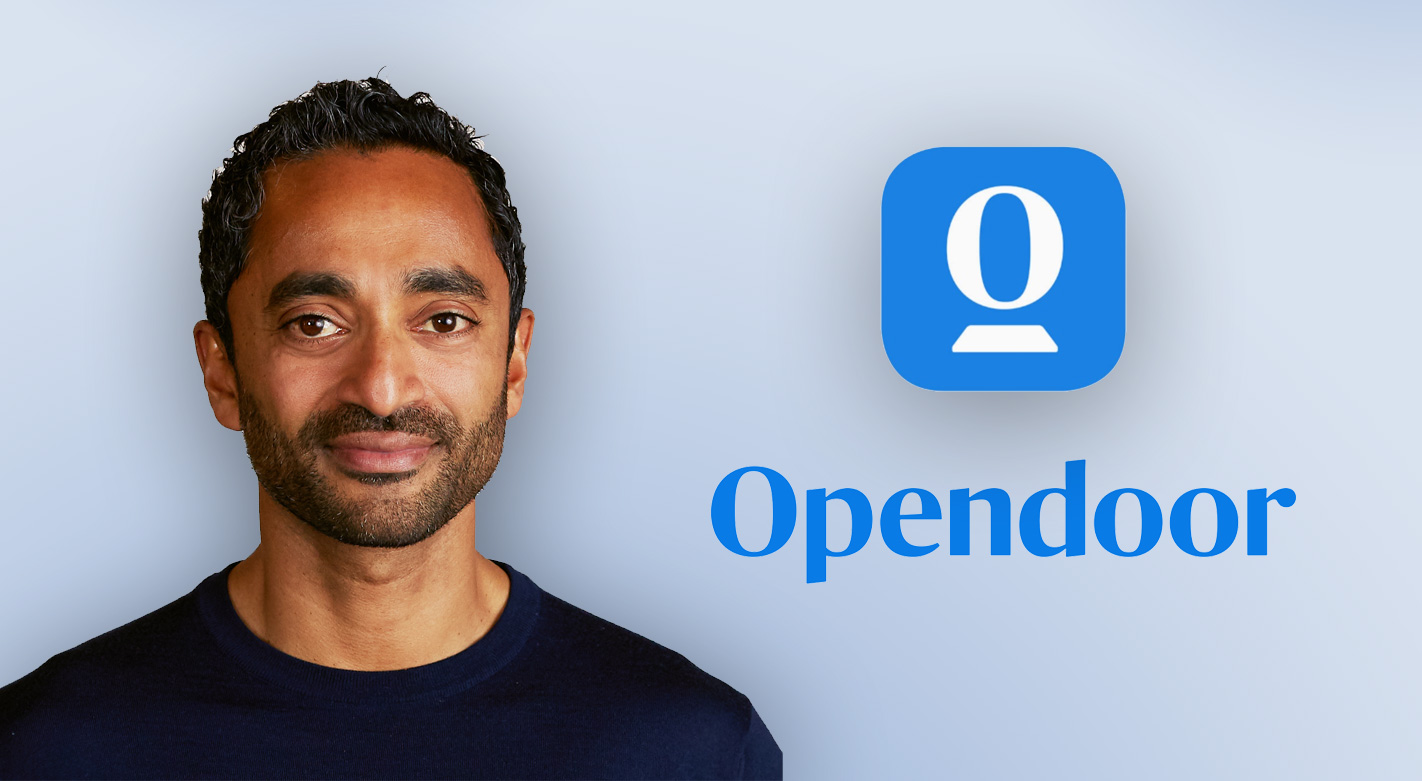 Opendoor goes public with Chamath via SPAC